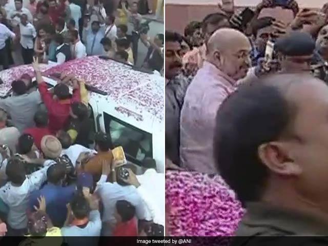 Photo : कर्नाटक रिजल्ट 2018: कर्नाटक चुनाव में भगवा आंधी, कार्यकर्ताओं में जश्न का माहौल