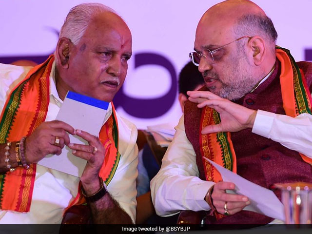 Photo : Karnataka Elections 2018: BJP's Key Candidates And Their Constituencies