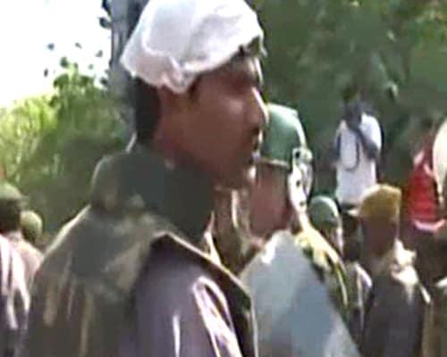 Violence at Osmania University during Telangana bandh
