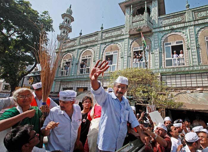 In pics: The Kejriwal experience for Mumbai