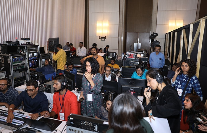 Behind The Scenes From The 6-hour #IndiaForKerala Telethon