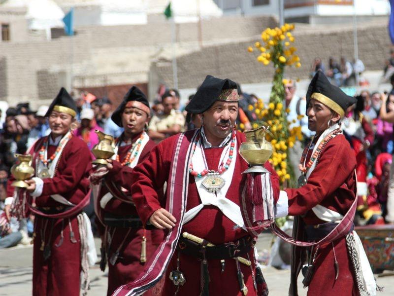 Photo : Living For The Moment At Ladakh Festival