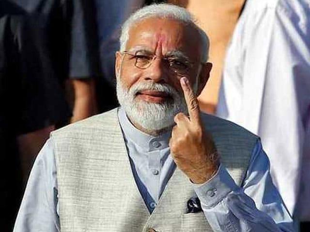Photo : लोकसभा चुनाव, तीसरा चरण: पीएम मोदी, अमित शाह समेत इन दिग्गजों ने डाला वोट