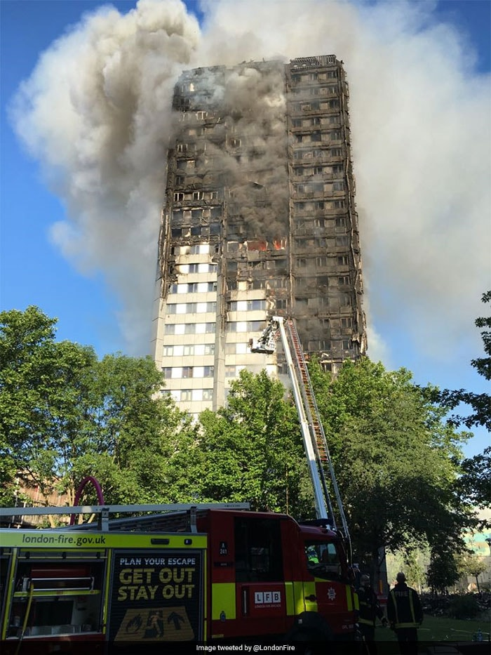 How Big Is London Fire? 5 Pics Here