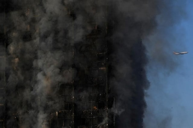 Huge Fire Engulfed 27-Storey Block Of Flats In London