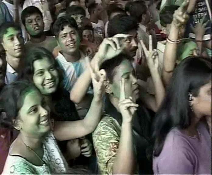 Mamata\'s triumphant victory