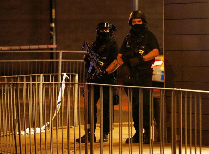 मैनचेस्टर: पॉप सिंगर एरियाना ग्रैंड के शो के दौरान धमाका