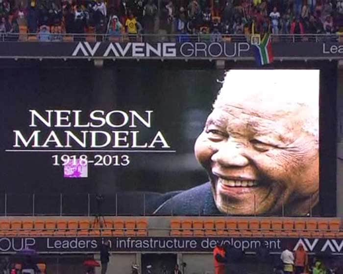 World\'s who\'s who at Nelson Mandela\'s memorial service