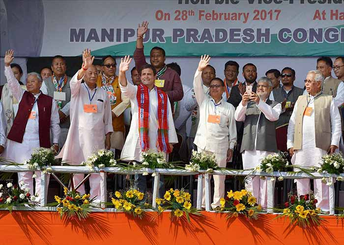 Manipur Elections 2017: Less Than A Week To Go For Polls, High Pitch Campaign Hots Up