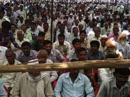 Photo : Mayawati's first rally in UP...