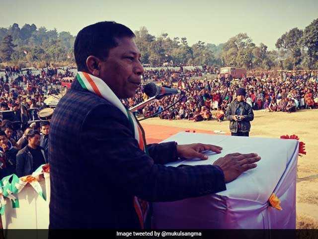 Photo : मेघालय विधानसभा चुनाव : कांग्रेस और बीजेपी ने चुनाव के लिए कमर कसी