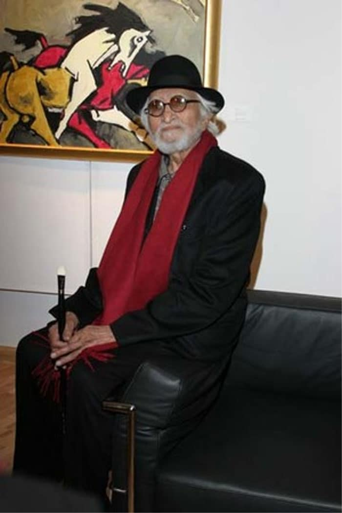 Husain, \'India\'s Picasso\'