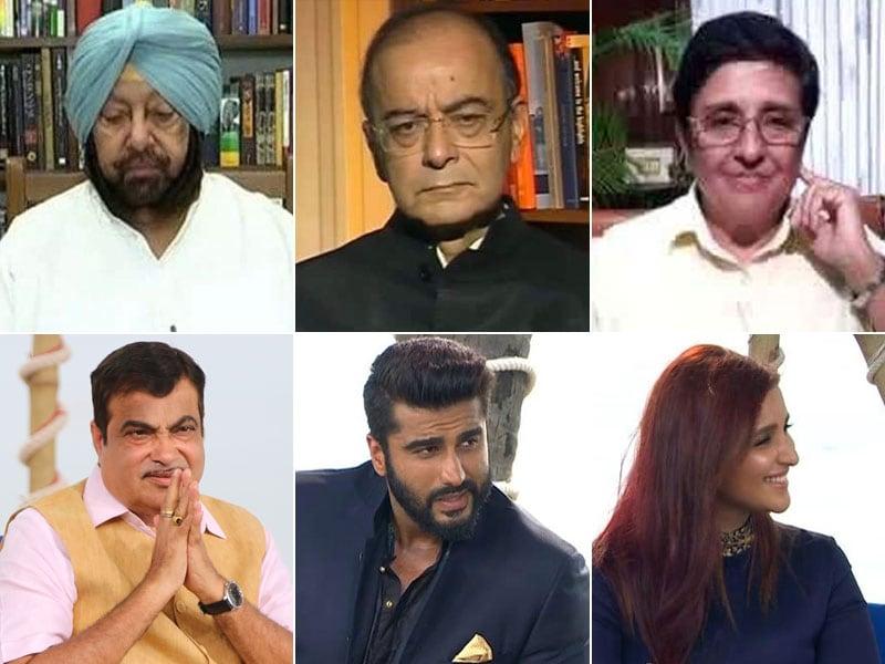 Photo : #SwachhIndia: क्लीनाथॉन में शामिल हुए जेटली, अमिरंदर सिंह, गडकरी समेत कई राजनेता