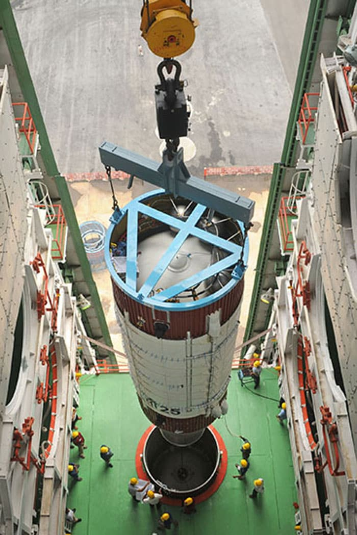 The making of a rocket