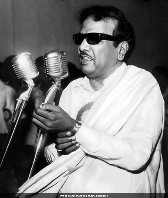 DMK Chief M Karunanidhi: A Life In Pictures