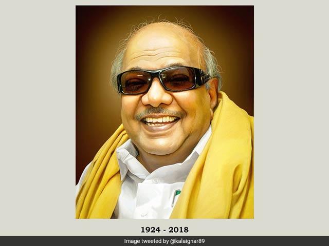 Photo : एम करुणानिधि: दुनिया को अलविदा कह गया राजनीति का एक और दिग्गज