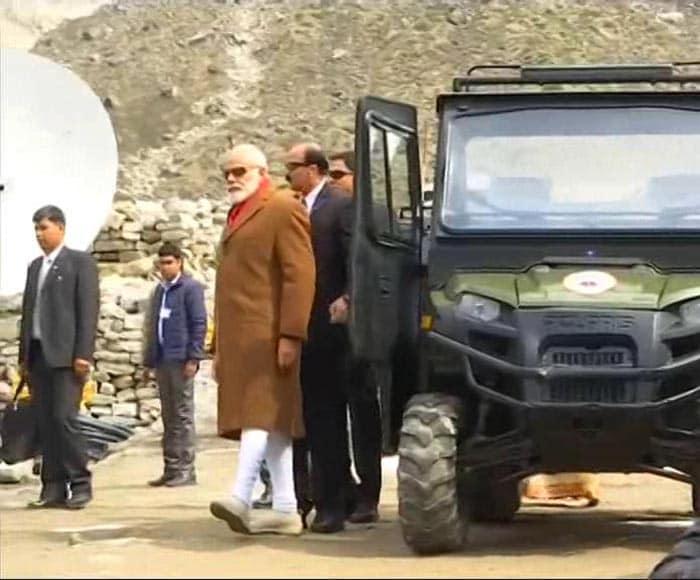 PM Narendra Modi Offers Prayers At Kedarnath Temple In Uttarakhand