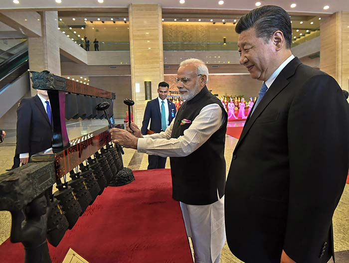 PM Modi and President Xi will also take a walk along banks of the East Lake after the museum visit. (PTI)