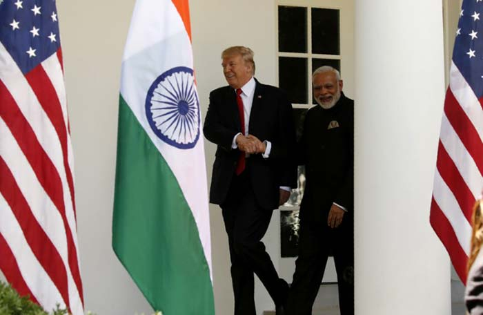 In Pics: PM Modi At The White House, Meets President Trump