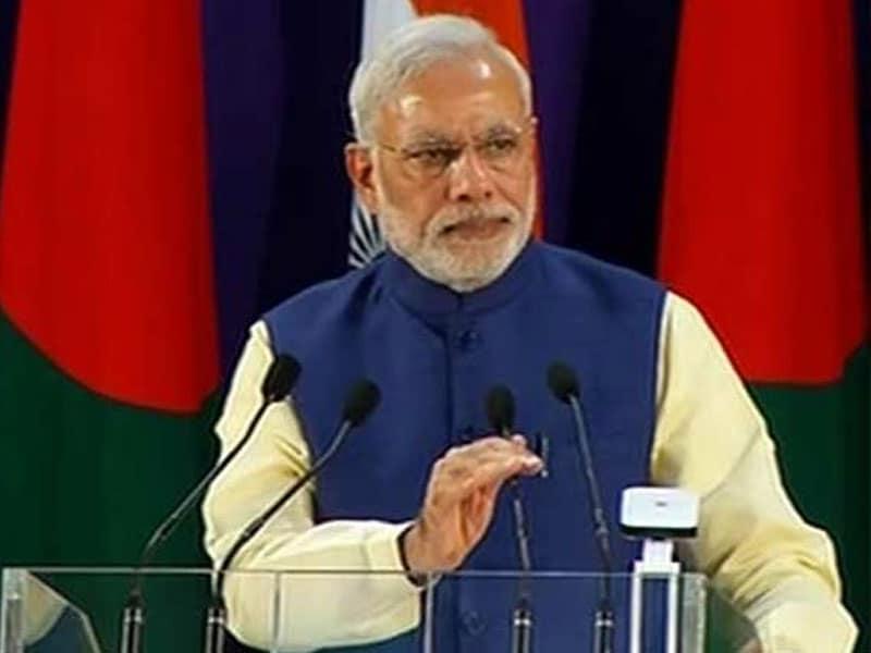Photo : India, Bangladesh Not Just 'Pass Pass' But 'Saath Saath', Says PM Modi in Dhaka