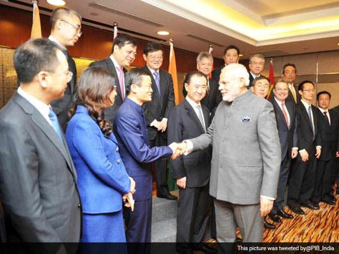 PM Modi Meets Top CEOs, Addresses India-China Business Forum in Shanghai