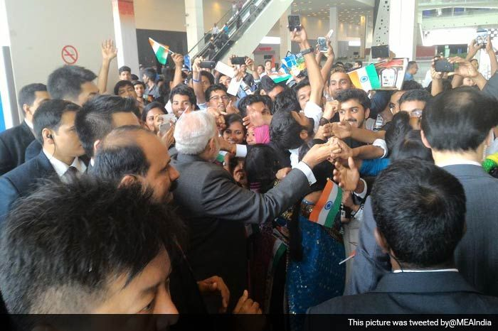 PM Modi Addresses Indian Community Reception in Shanghai