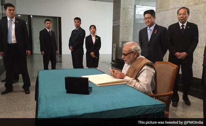 PM Modi Spends Day One of His China Visit in President Jinping\'s  Hometown
