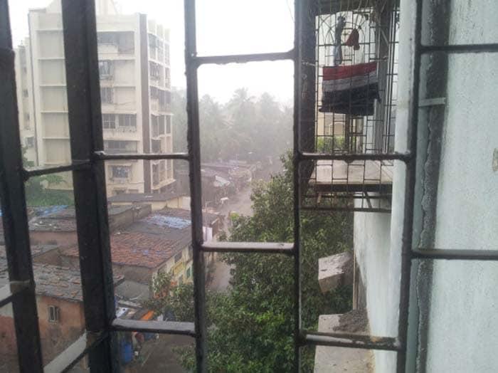 Pre-monsoon showers in Mumbai