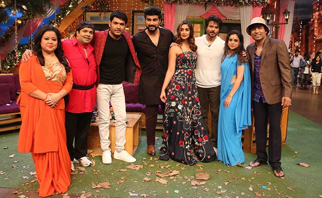 कपिल के शो में पहुचीं टीम 'मुबारकां', अनिल पर चढ़ा 'मिस्टर इंडिया' का सुरूर
