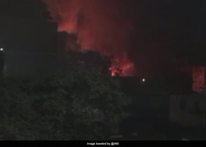 Massive Fire At Cinevista Studio In Mumbai\'s Kanjurmarg