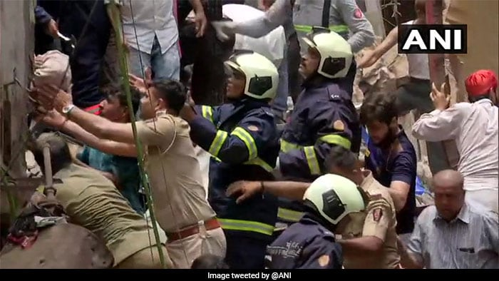 Mumbai Building Collapse In Photos: 40-50 People Feared Trapped Under Debris In Dongri