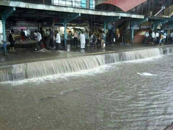 Image result for mumbai rains images