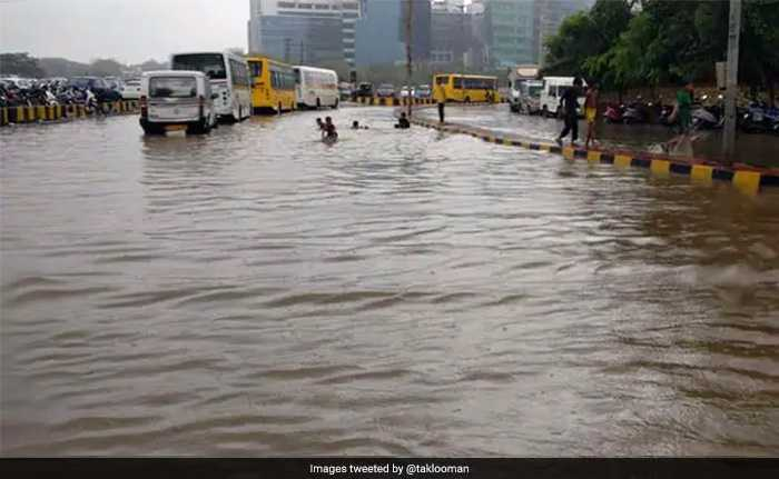 Pre-Monsoon Shower Brings City To Standstill, Flights Diverted, Flooding In Several Areas