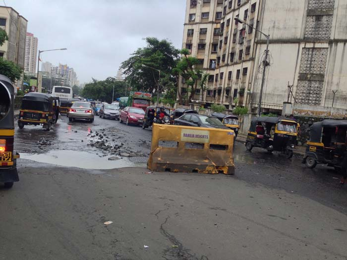 Mumbai\'s pothole mess