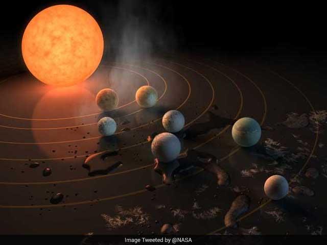 Photo : तस्वीरों में: क्या आपने देखा ये 'नया सौरमंडल' और 7 पृथ्वी जैसे ग्रह...