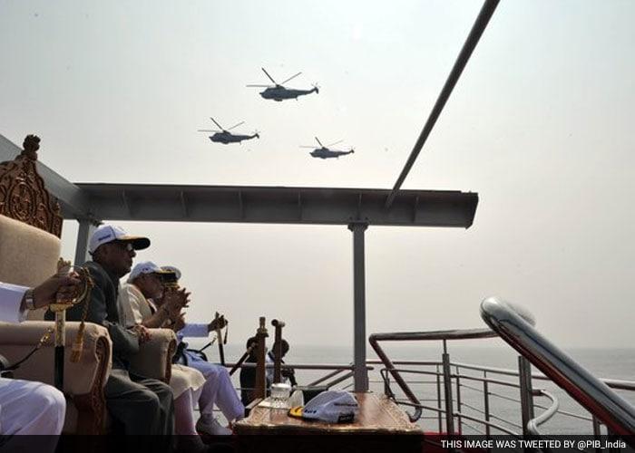 नौसेना की शान में एक दिन... अंतरराष्ट्रीय फ्लीट रिव्यू में 100 जंगी जहाज़