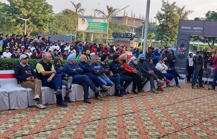 अंगदान के प्रति जागरूकता के लिए मोहाली की जनता ने किया वॉकेथॉन