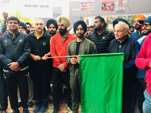 NDTV-Fortis More To Give : Mohali Supports Organ Donation