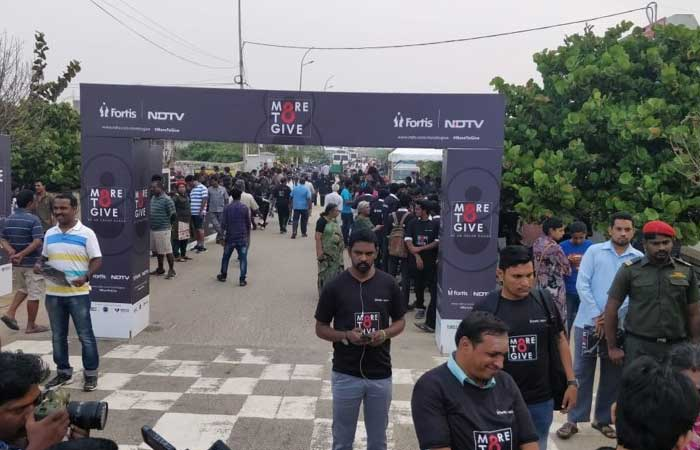 NDTV-Fortis More To Give - Chennai Walks For Awareness About Organ Donation