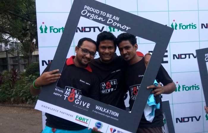NDTV-Fortis More To Give: Mumbai Walkathon Flag Off