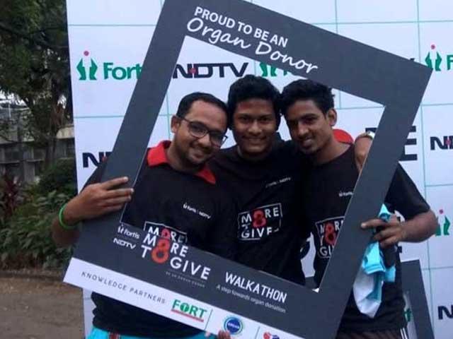 NDTV-Fortis More To Give: Mumbai Walkathon
