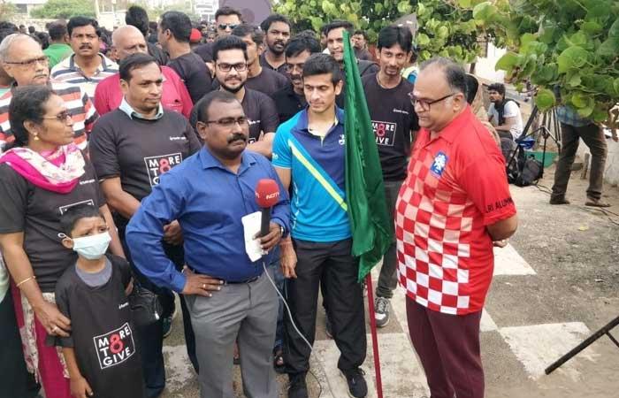 NDTV-Fortis Walkathon Flag Off Across India