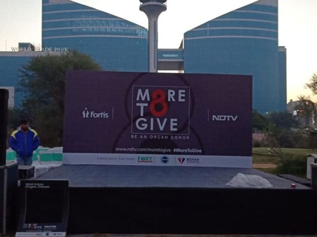 ndtv fortis more to give be an organ donor