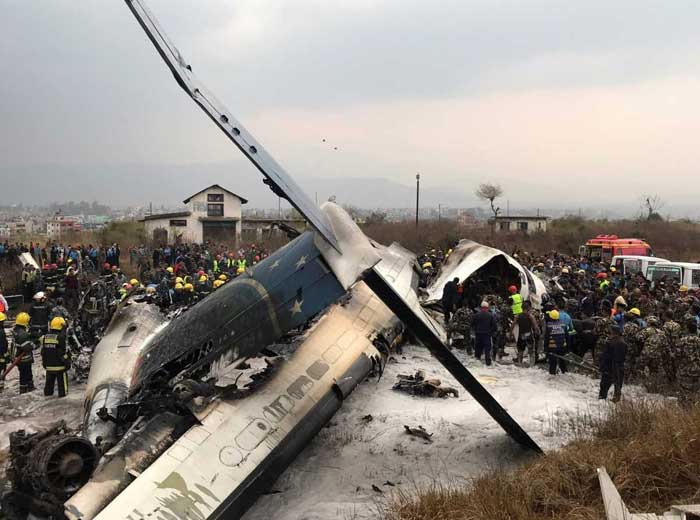 Bangladesh Plane With 71 Passengers Crash-Lands At Nepal Airport