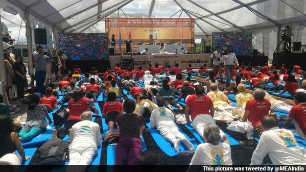 Yoga in the Big Apple: International Day of Yoga in New York City
