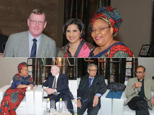 Photo : #NobelSolutions: Meet the Nobel Laureates