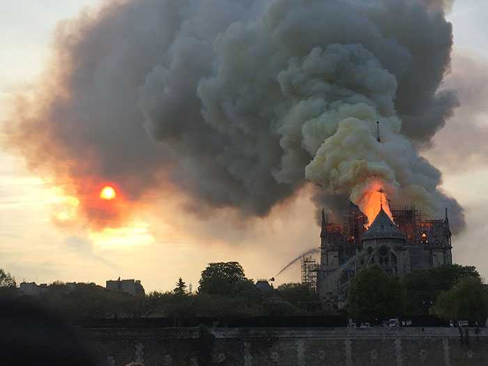 Notre Dame Main Structure Saved, Emmanuel Macron Vows To Heal Heart Of Paris