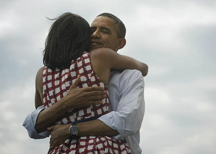 In pics: Obama\'s night. Four more years