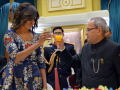 Photo : A Lavish Banquet for the Obamas
