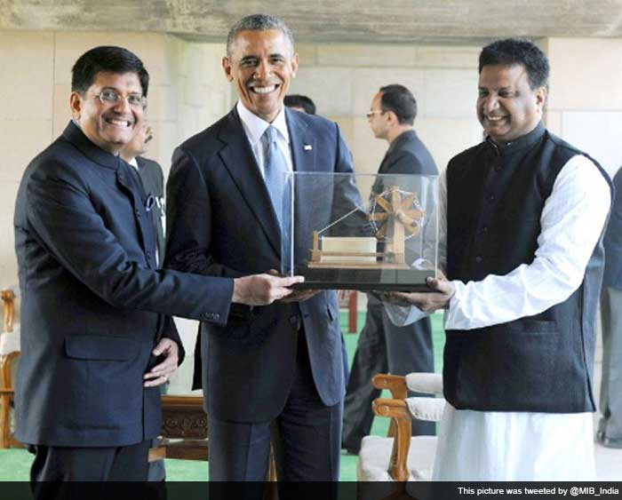To President Obama, With Love From India